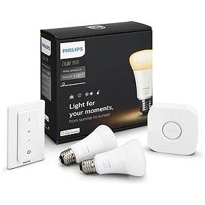 フィリップス LED電球スターターセット「Hue ホワイトグラデーション」 PY47915L