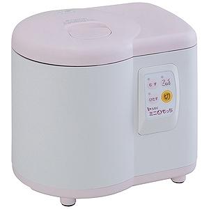 エムケー精工 家庭用ミニもちつき機「ミニもっち」(3~5合) RM-05MN (ホワイト×ピンク)