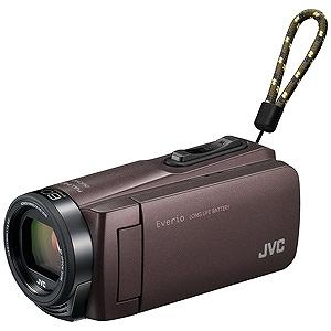 JVC・ビクター SD対応 32GBメモリー内蔵フルハイビジョンビデオカメラ GZ-F270-T (ブラウン)