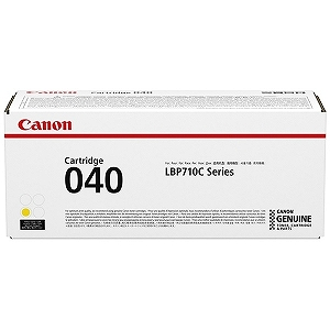 Canon (純正)トナーカートリッジ040(イエロー) CRG‐040YEL