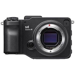 シグマ sd Quattro H【ボディ(レンズ別売)/ミラーレス一眼カメラ】 SDQUATTROH