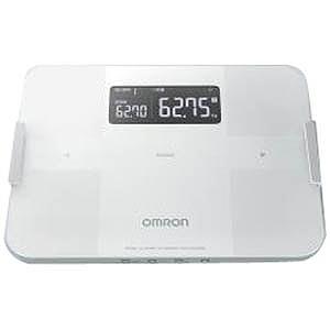 オムロン 体重体組成計「カラダスキャン」 HBF‐255T‐W (ホワイト)