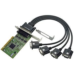 ラトック 4ポート RS-232C・デジタルI/O PCIボード REXPCI64D