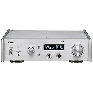 DAC付 ハイレゾ音源対応ヘッドホンアンプ UD‐503‐S(シルバー)(送料無料) ティアック