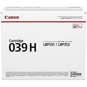 Canon 純正トナーカートリッジ039H(大容量) CRG‐039H