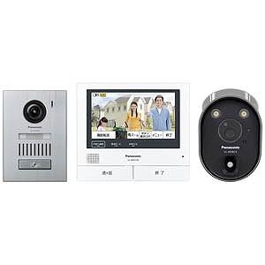 パナソニック ワイヤレスカメラ付テレビドアホン VL‐SVH705KSC