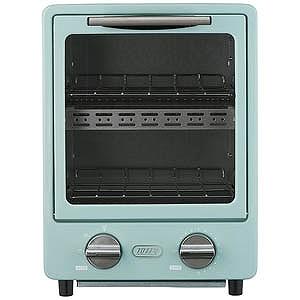 ラドンナ オーブントースター Toffy PALE AQUA [900W/食パン2枚] K‐TS1‐PA PALE AQUA