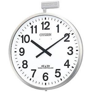 リズム時計工業 屋外用電波掛時計「ポールウェーブSF」 4MY611-N19