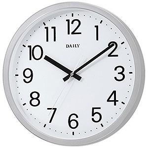 リズム時計工業 掛け時計「フラットフェイスDN」 4KGA06DN19
