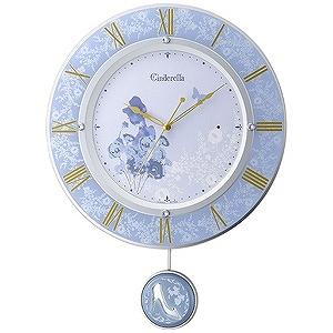 リズム時計工業 電波掛け時計「シンデレラ」 8MX406MC04