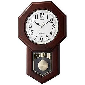 【お気にいる】 リズム時計工業 電波からくり時計「モーランドR」 4MNA06RH06, 杢目MOKUME:70c76293 --- rki5.xyz