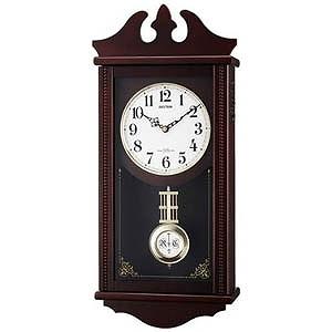 リズム時計工業 電波からくり時計「ペデルセンR」 4MNA03RH06(送料無料)