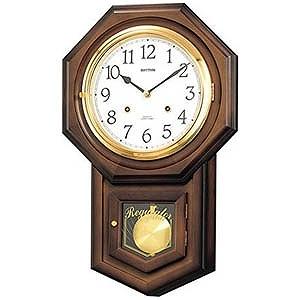 リズム時計工業 からくり時計「フィオリータR」 4MJ770RH06(送料無料)