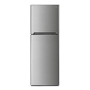 大宇電子 2ドア冷蔵庫 (243L・右開き) DR‐T24GS/メタルシルバー(標準設置無料)