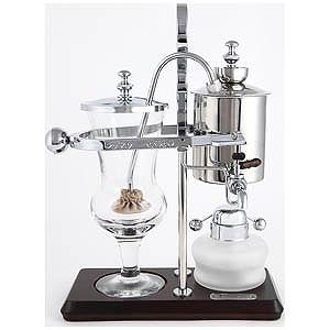 ユノックス コーヒーサイフォン「バランシング」(500ml) HG0135 (シルバー)