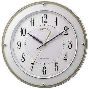 リズム時計工業 電波掛け時計「ミレディミヤサカ」 8MY510SR03