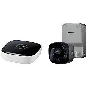 パナソニック ホームネットワークシステム(親機+屋外バッテリーカメラ) KX‐HC300SK‐H