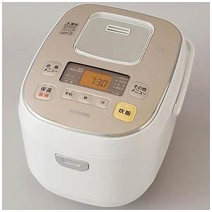 アイリスオーヤマ IH炊飯ジャー「米屋の旨み」(5.5合) KERC-IB50-W(送料無料)
