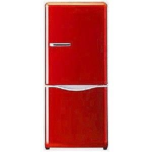 大宇電子 2ドア冷蔵庫(150L・右開き) DR-C15AR (レッド)(標準設置無料)