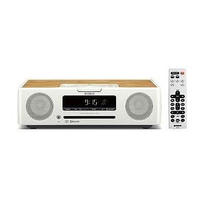 YAMAHA 「ワイドFM対応」Bluetooth対応 CDクロックオーディオ(ホワイト) TSX-B235 W