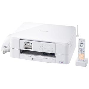 ブラザー 【子機1台】A4インクジェットFAX複合機「PRIVIO(プビリオ)」 MFC-J737DN (ホワイト)