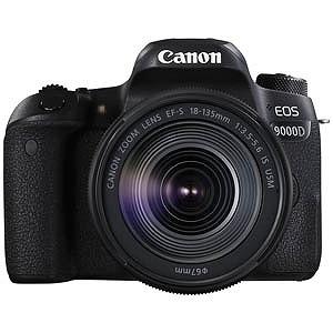 Canon デジタル一眼 EOS 9000D(W)(EF-S18-135 IS USM レンズキット) EOS9000D18135ISUSMLK