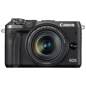 Canon ミラーレス一眼 EOS M6(EF-M18-150 IS STM レンズキット)ブラック EOSM6BK18150ISSTMLK