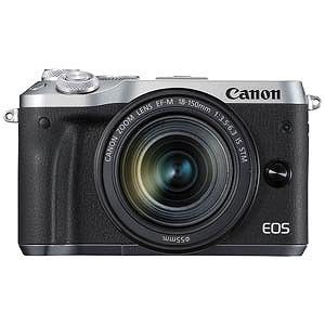 Canon ミラーレス一眼 EOS M6(EF-M18-150 IS STM レンズキット)シルバー EOSM6SL18150ISSTMLK