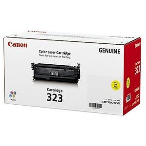 Canon (純正)トナーカートリッジ 323(イエロー) CRG-323YEL