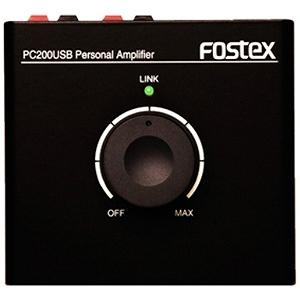 FOSTEX DAC搭載ボリュームコントローラー/アンプ付 PC200USB(送料無料)