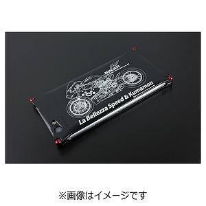 ギルドデザイン iPhone 6s/6用 くまモン×ラ・ベレッツァ GKL-240BIK