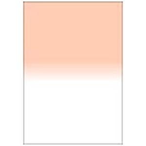 LEE LEEリーフォトグラフィック樹脂フィルター 100X150mm角 ハーフカラーグラデーションコーラルNo.6