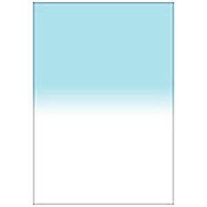 LEE LEEリーフォトグラフィック樹脂フィルター 100X150mm角 ハーフカラーグラデーションシアン