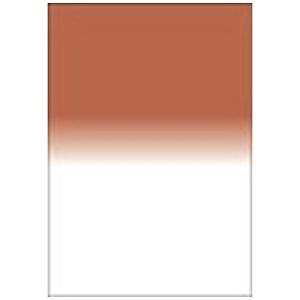 LEE LEEリーフォトグラフィック樹脂フィルター 100X150mm角 ハーフカラーグラデーションセピアNo.2