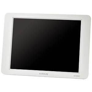 センチュリー 8インチアナログRGBモニター plus one VIDEO VGA(ホワイト) LCD-8000V2W