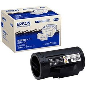 EPSON (純正)環境推進トナー(Mサイズ) LPB4T19V(送料無料)