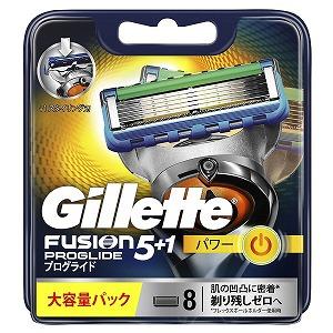 ジレット ジレット フュージョン 5+1 プログライド フレックスボール パワー 替刃 8個入 GRプログライドパワカエ8B