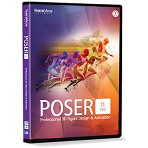 イーフロンティア 〔Win・Mac版〕Poser Pro 11 POSER PRO 11(WIN