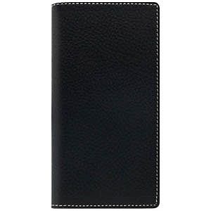 ROA iPhone 7用Minerva Box Leather Case ブラック SD8099i7