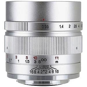 中一光学 交換レンズ SPEEDMASTER 35mm F0.95 II(シルバー)(FUJIFILM Xマウント)