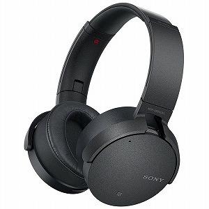 ソニー ブルートゥースヘッドホン[ノイズキャンセリング] MDR-XB950N1BM (ブラック)(送料無料)