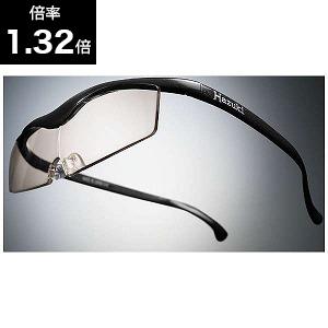 Hazuki Company スマートハズキ 1.32倍 カラーレンズ 黒 Hazuki5 クロブルーライト(ブ