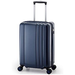 A.L.I TSAロック搭載スーツケース RUNWAY(40L) BC1001(ネイビー)(送料無料)