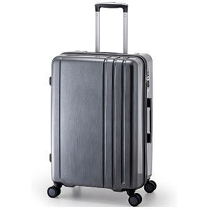A.L.I TSAロック搭載スーツケース RUNWAY(60L) BC1002(ガンメタブラッシュ)(送料無料)