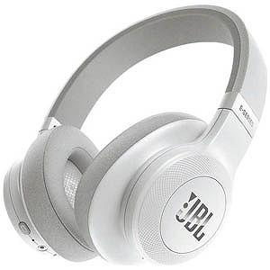 JBL ブルートゥースヘッドホン(ホワイト) JBLE55BTWHT(送料無料)