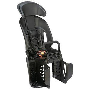 YAMAHA ヘッドレスト付コンフォートリヤチャイルドシート Q5K-OGG-208-101(ブラック/ブラック)
