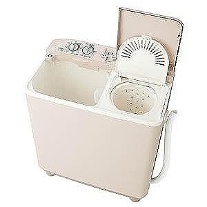 AQUA 二槽式洗濯機(洗濯・脱水容量3.5kg) AQW-N351(ソフトグレー)(標準設置無料)