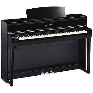 YAMAHA 電子ピアノ Clavinova(クラビノーバ) CLPシリーズ(88鍵盤) CLP-675PE (黒鏡面艶出し仕上げ)(標準設置無料)
