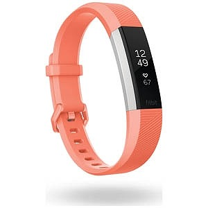Fitbit ウェアラブル端末 心拍計+フィットネス リストバンド 「Alta HR」 Lサイズ FB408SCRL-CJK Coral