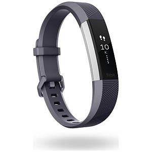 Fitbit ウェアラブル端末 心拍計+フィットネス リストバンド 「Alta HR」 Lサイズ FB408SGYL-CJK Blue Gray(送料無料)
